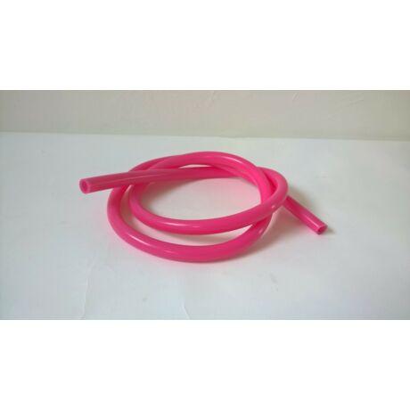 Hookah Flame szilikon szívócső - rózsaszín