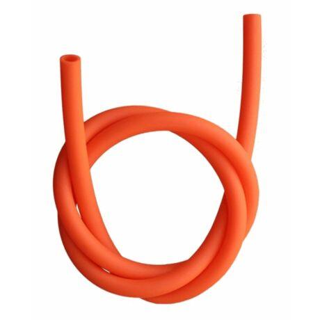 Hookah Flame matt szilikon szívócső - narancs