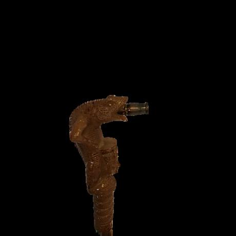 Kobra cső - barna