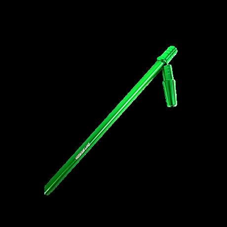 Hookah Flame alumínium szívóvég Slim + konnector szett - zöld