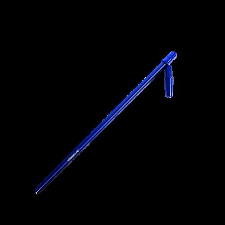 Hookah Flame alumínium szívóvég Slim XL + konnector szett - kék