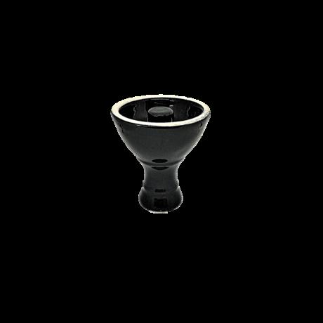Vortex vízipipa kerámia - fekete