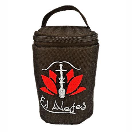 El Nefes dohánytölcsér táska - Fekete