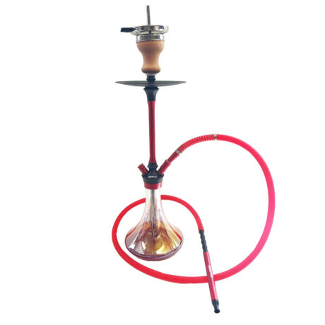Hookah Flame Marvelous vízipipa szett - piros