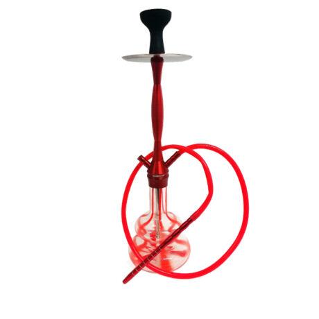 Hookah Flame Stripy vízipipa szett - piros