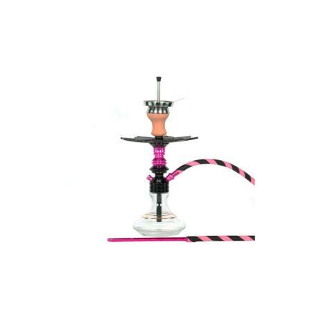 MS Leao vízipipa szett fekete-pink