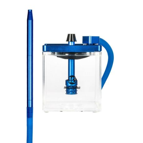 MS Micro vízipipa kék-átlátszó