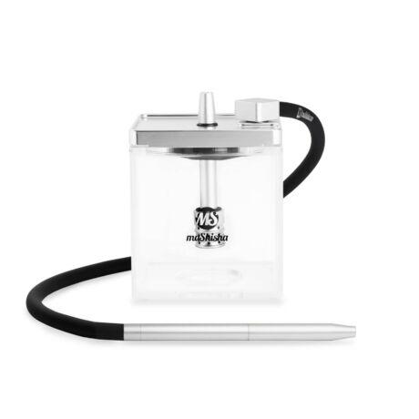 MS Micro vízipipa ezüst-átlátszó