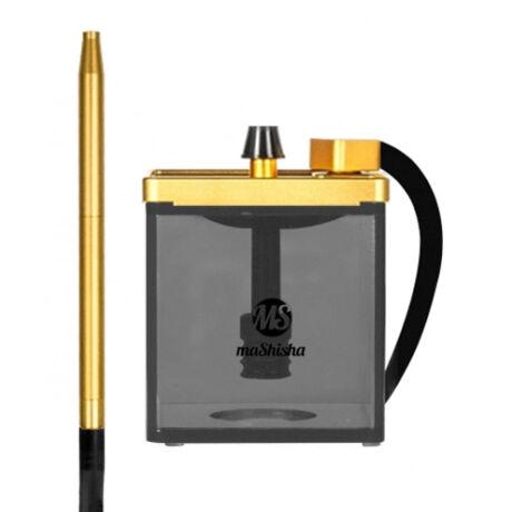 MS Micro vízipipa arany-fekete