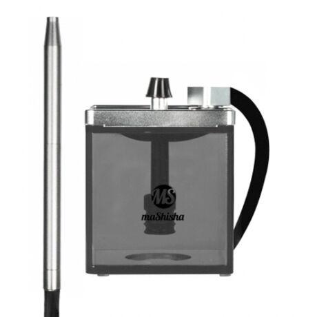 MS Micro vízipipa ezüst-fekete
