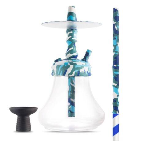 MS Tokyo vízipipa szett - K-mu kék