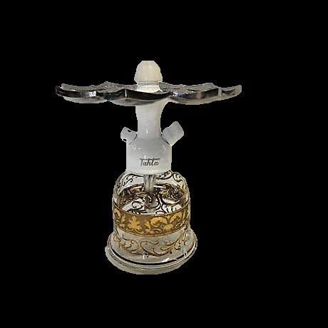 Tahta Mini Beast vízipipa Kafur üveggel - fehér