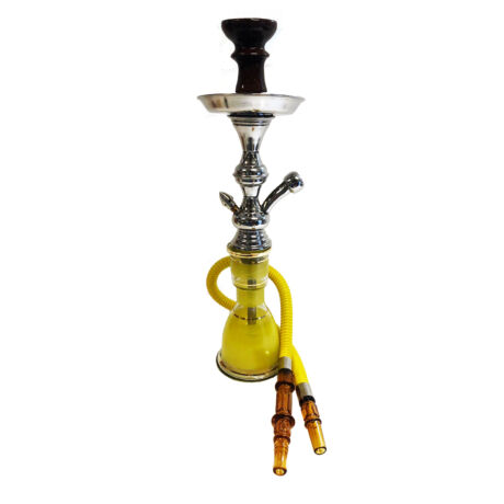 Top Mark vízipipa - 47 cm - citromsárga