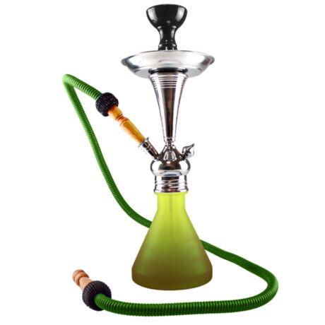 Aladin ROY7 vízipipa - barna/zöld