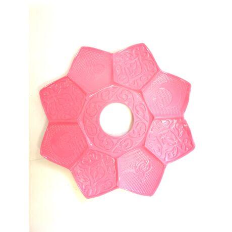 Sultan Alumínium vízipipatálca - rózsaszín
